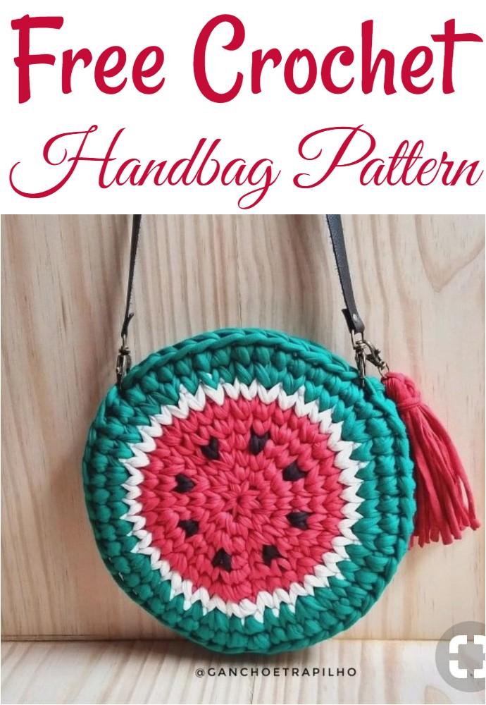 Free Crochet Handbag Pattern