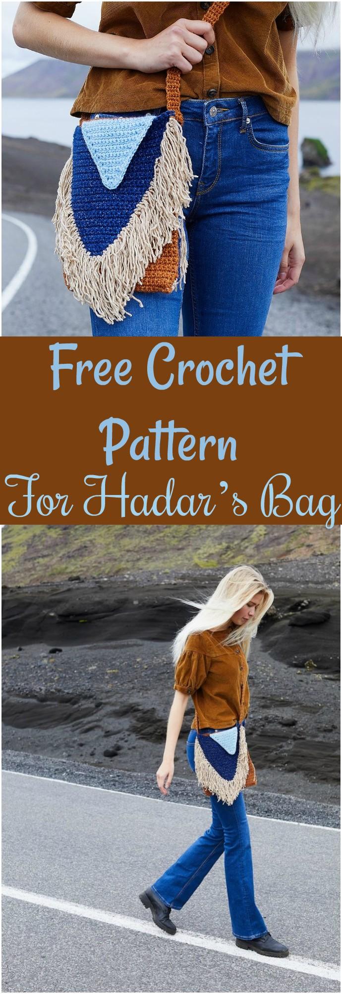 Free Crochet Pattern For Hadar's Bag