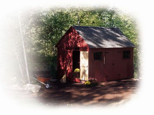Build A Shed Colonial-Style