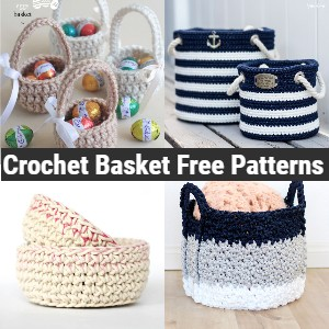 Crochet Basket Free Patterns