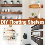 DIY Floating Shelves - Perfect Storage Solution