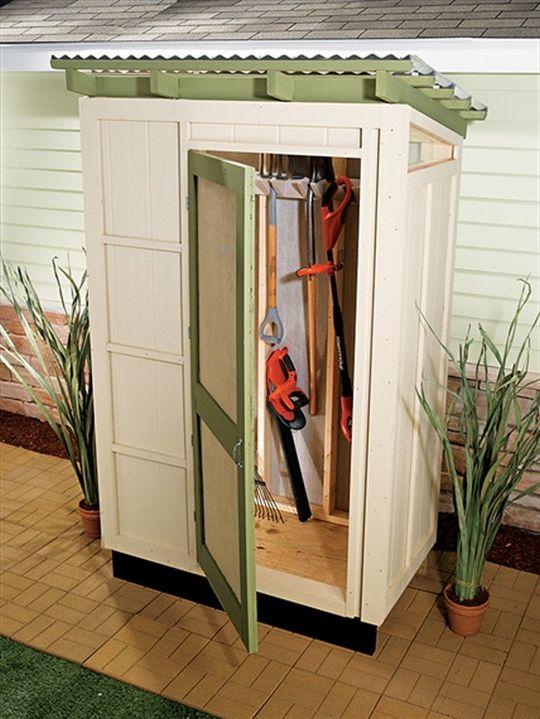 DIY Simple Storage Shed Plan