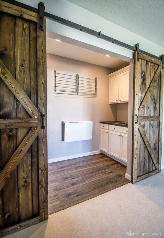 Double Barn Door Plans