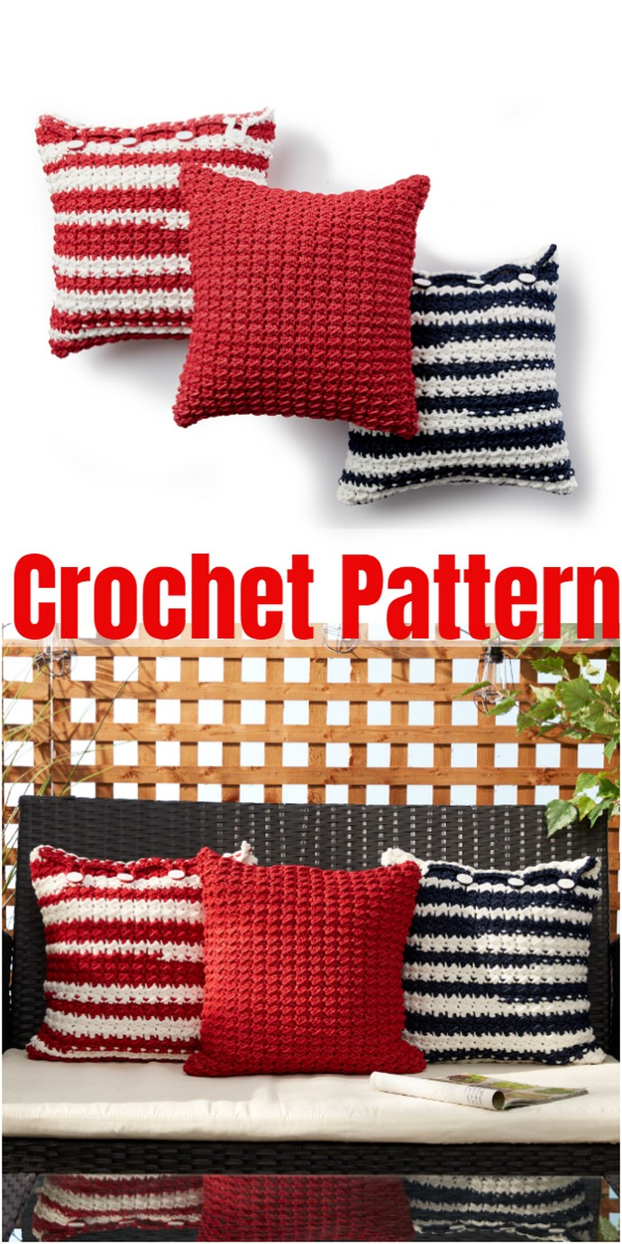 Easy Crochet Pillow Pattern