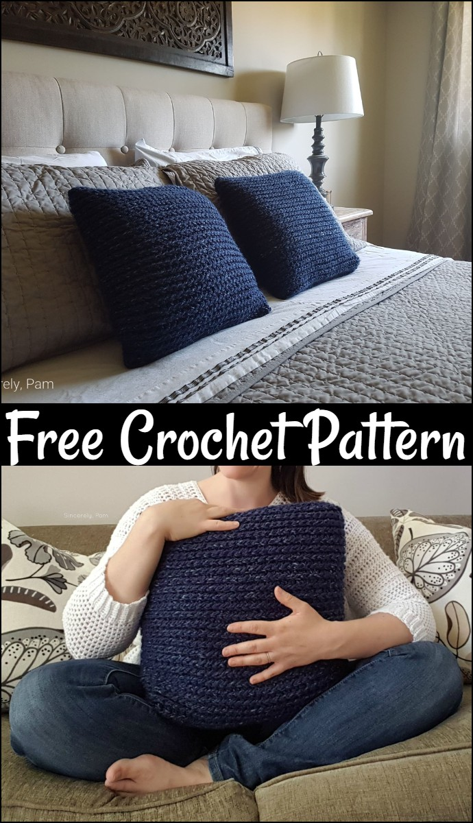 Easy Peasy Pillow Free Pattern