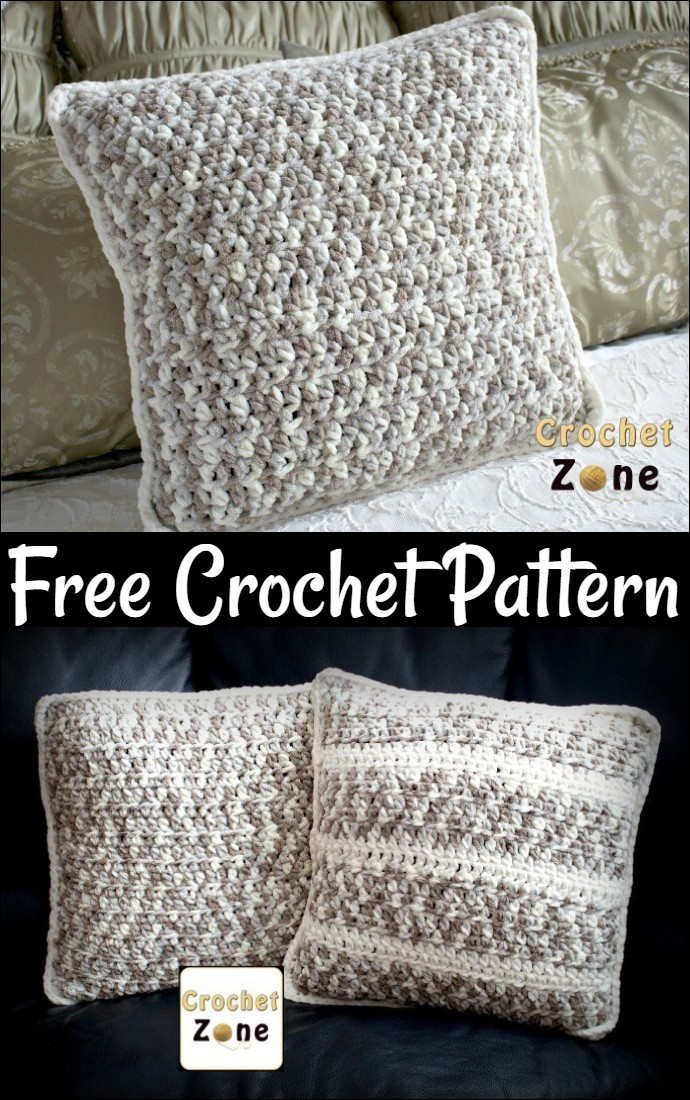 Free Crochet Pattern For Basic Throw Pillow