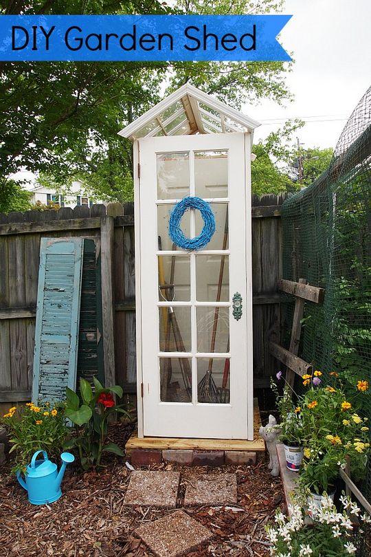 Little DIY Garden Shed