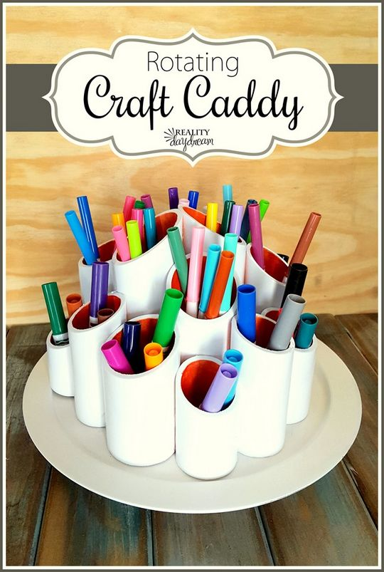Rotating Craft Caddy
