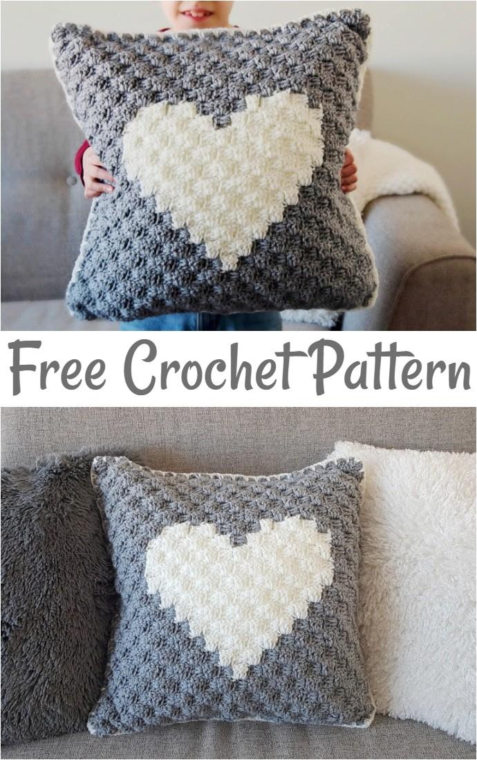 40 Free Crochet Pillow Patterns Diy Home Decor