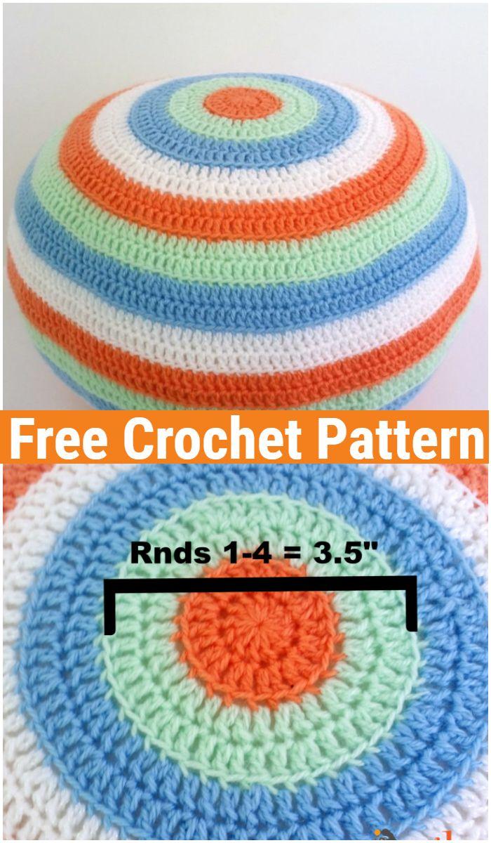 Sweetie Crochet Pouf