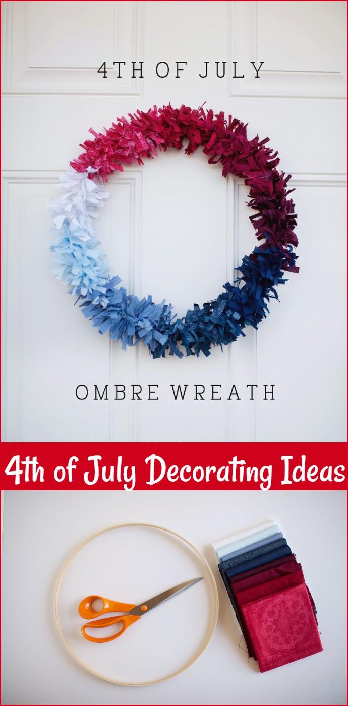 Tell Fourth Of July Wreath