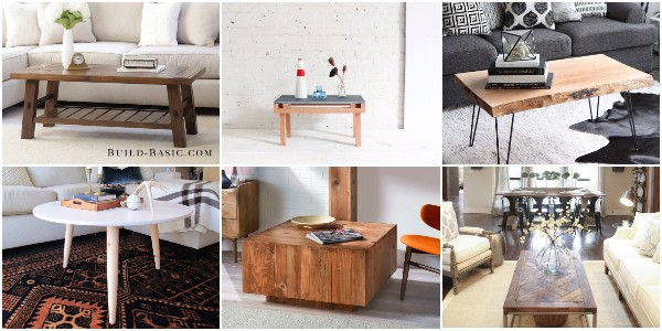 How to Create a Pretty DIY Coffee Table