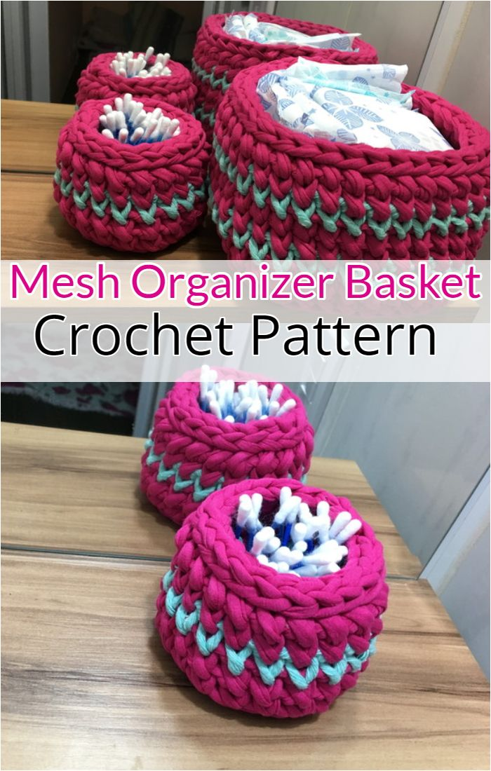 Mesh Organizer Basket Kit