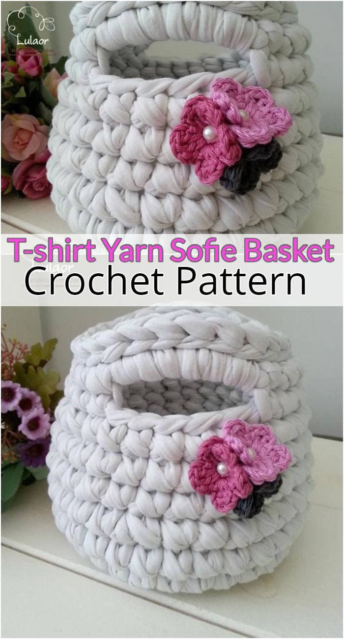 T-shirt Yarn Sofie Basket