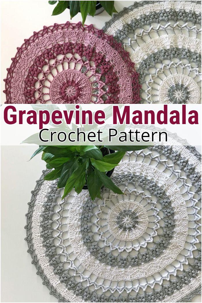 Grapevine Mandala
