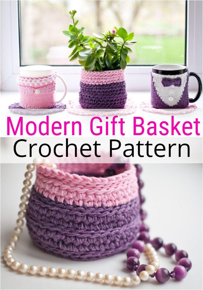 Modern Gift Basket