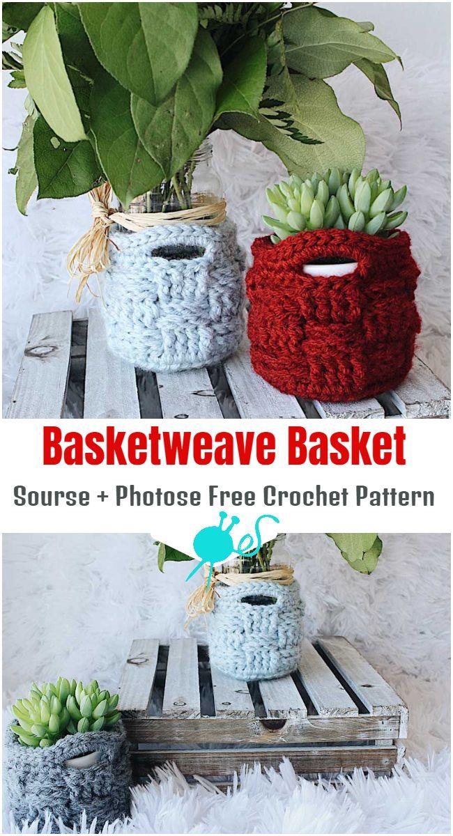 Basketweave Basket