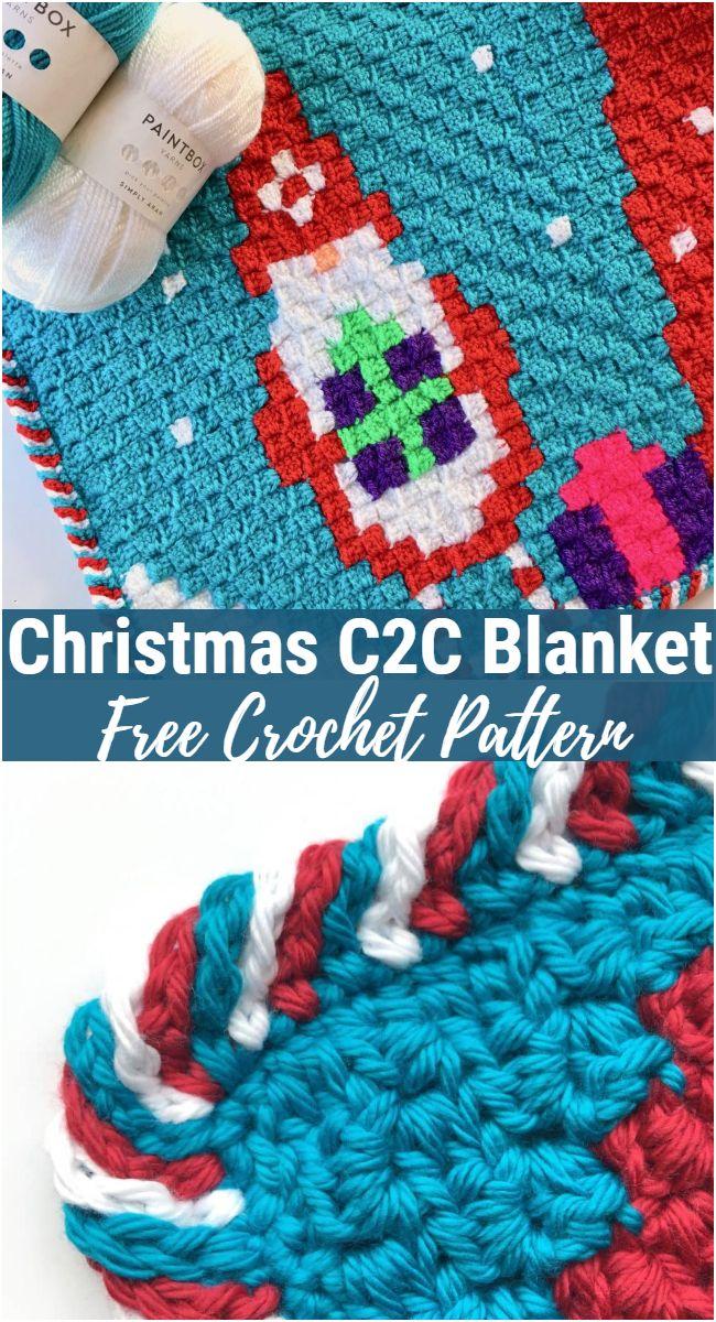 Christmas C2C Blanket