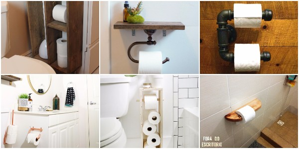 DIY Toilet Paper Holder Ideas - Add Decor To Bathroom