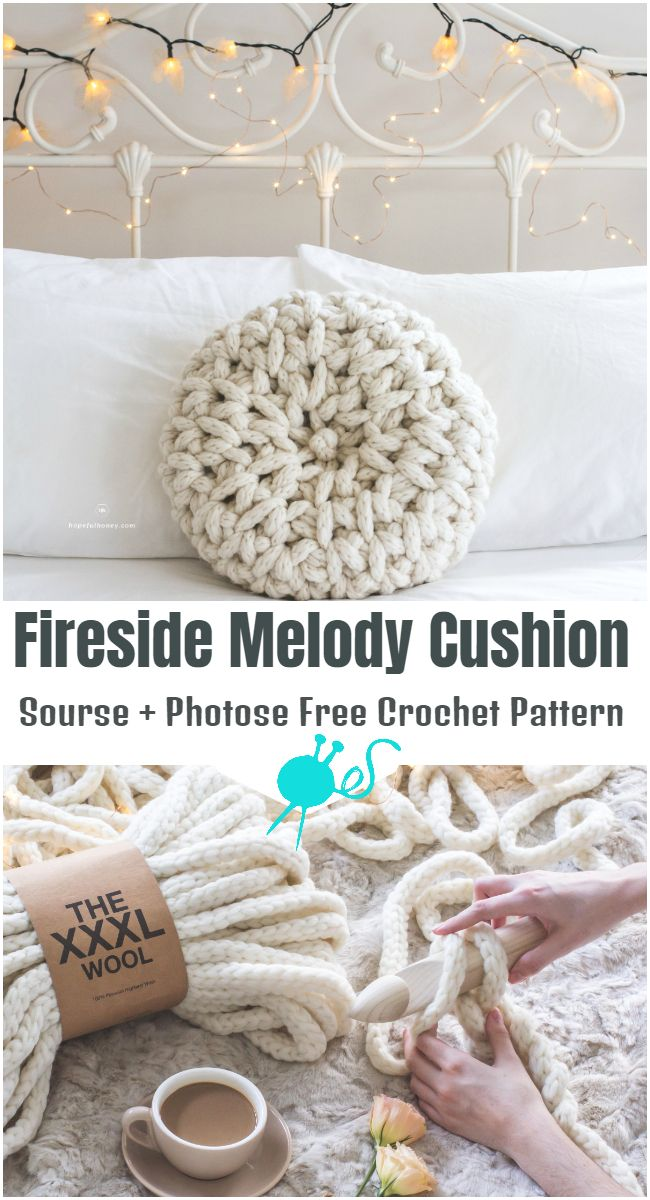 Fireside Melody Cushion