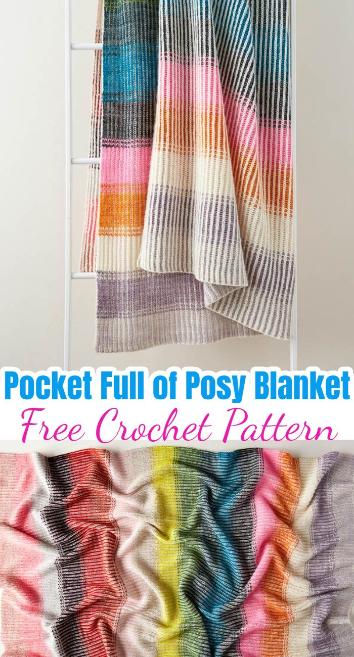 Pocket Full of Posy Blanket