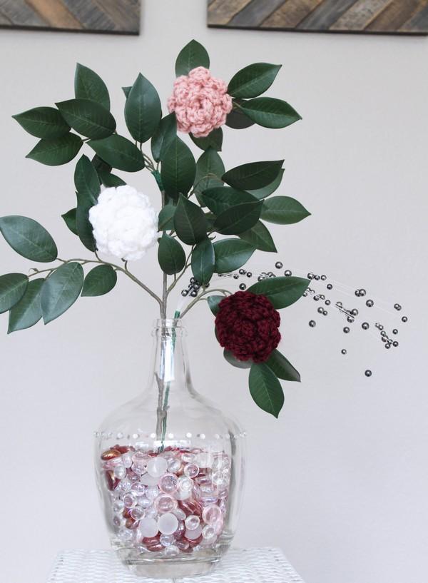 Crochet Floral Bouquet