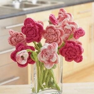 Crochet Flower Bouquet Patterns
