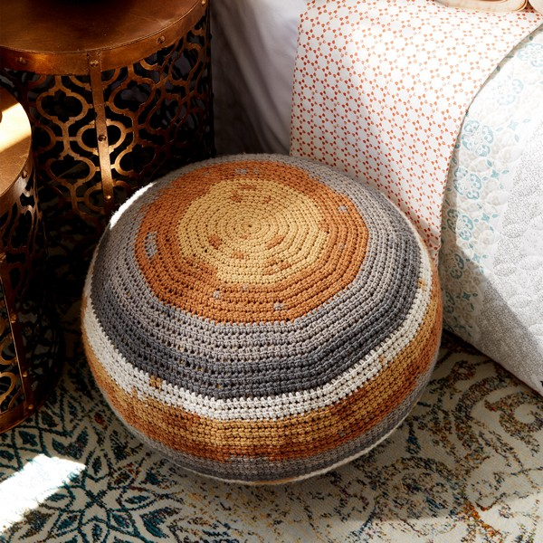 Crochet Pouf Pattern