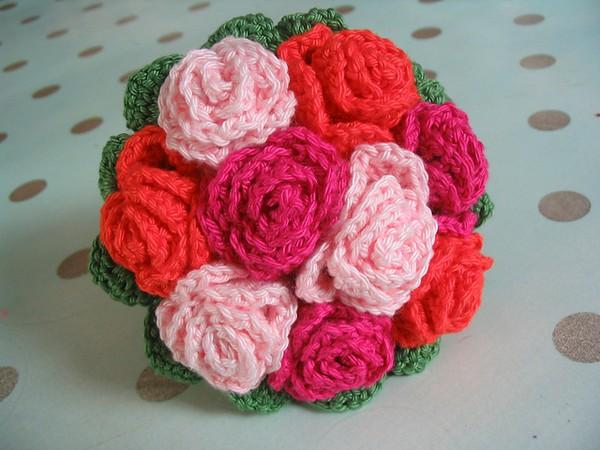 Crochet Wedding Flower Bouquet
