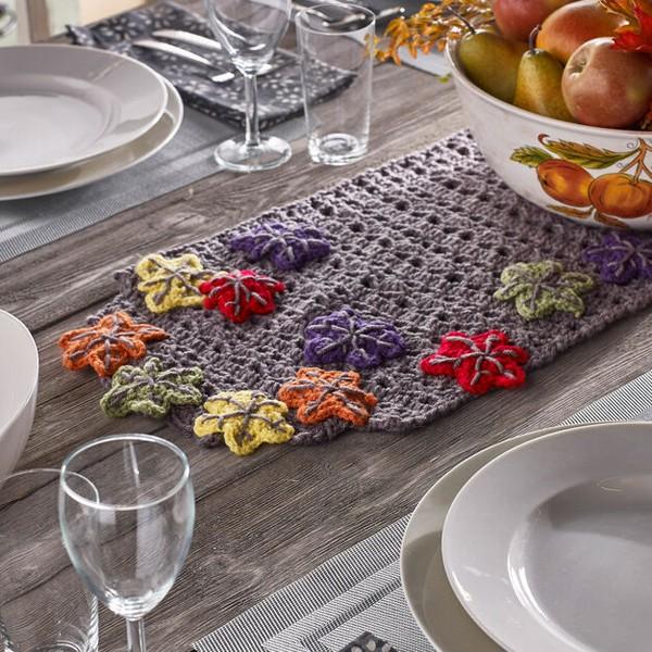 Fall Table Runner Crochet Pattern