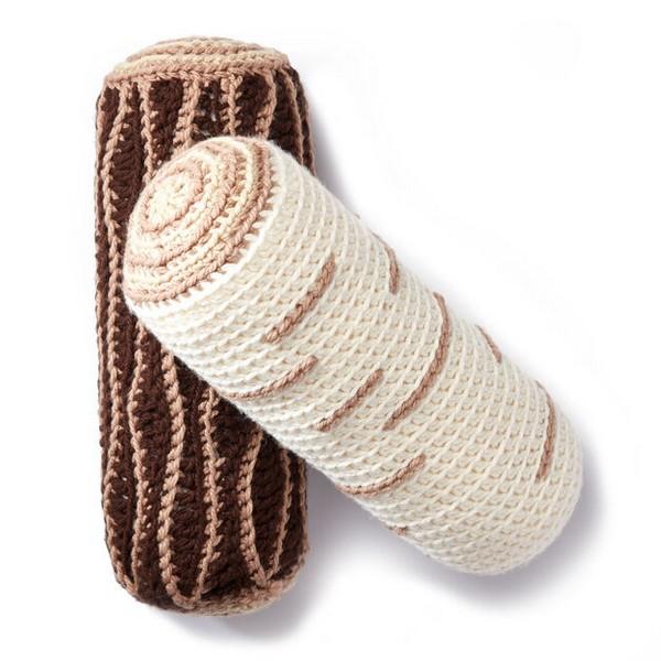 Free Crochet Timber Pillows