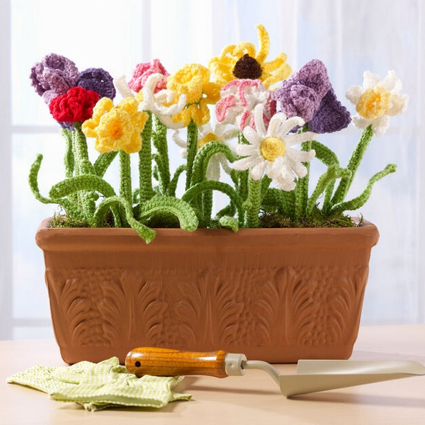 Mom's Day Bouquet Crochet Pattern