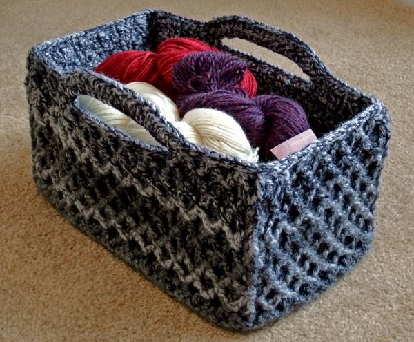 Rectangular Diamond Trellis Basket