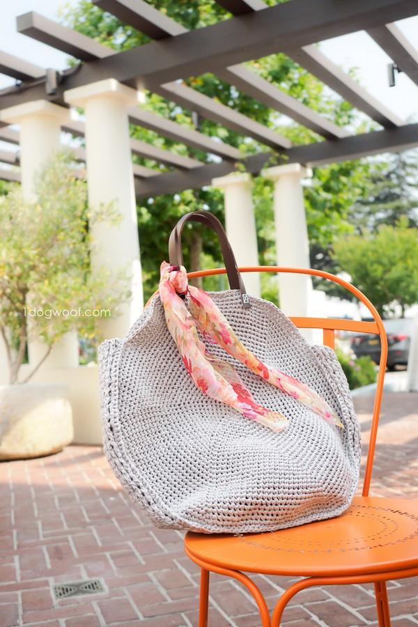 Sonoma Circle Bag Crochet Pattern