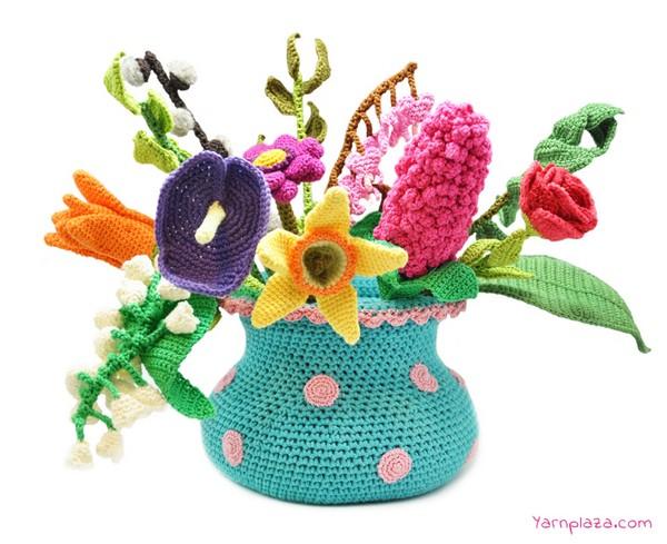 Spring Bouquet Crochet Pattern