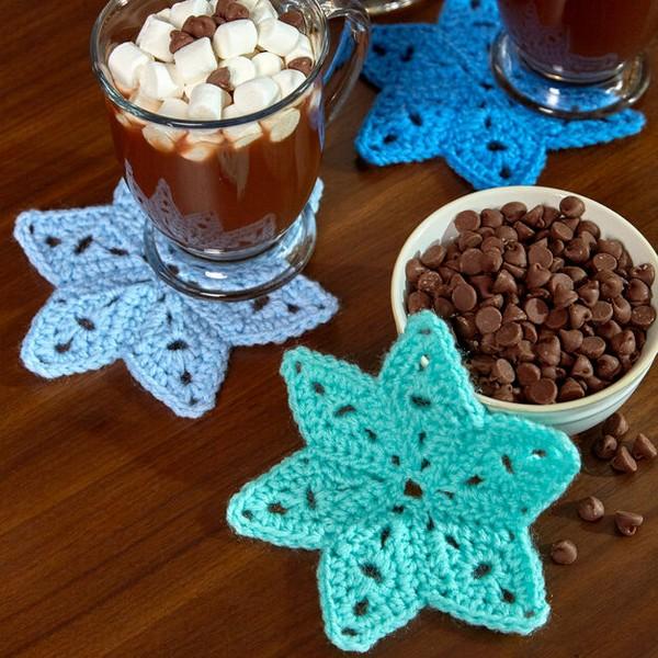 Star Coasters Crochet Pattern
