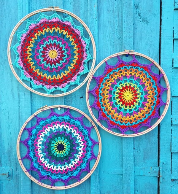 Summer Mandala Free Crochet Pattern