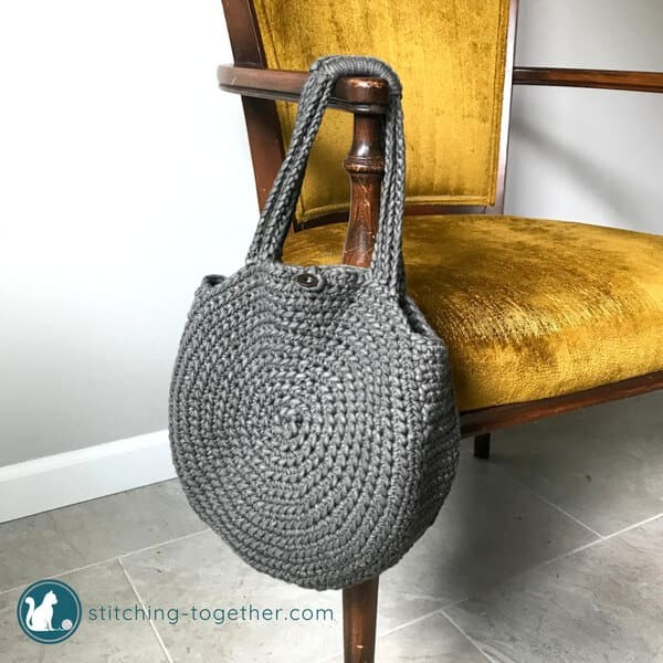 The Cities Crochet Circle Bag