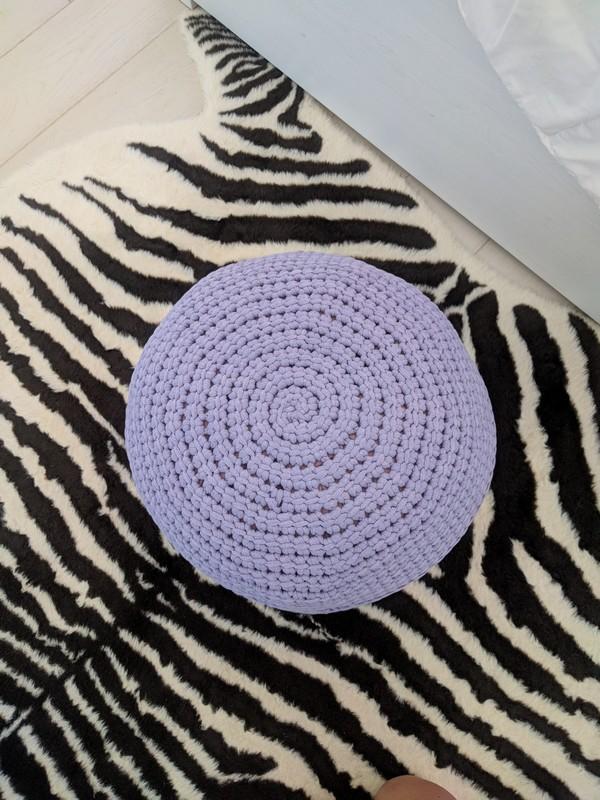 The Foolproof Floor Pouf Free Crochet Pattern