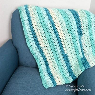 Crochet Snow Drops Blanket - A Free Pattern