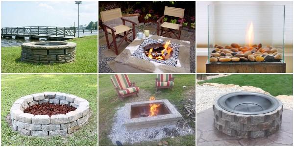 DIY Fire Pit Ideas to Make Your Backyard Beautiful