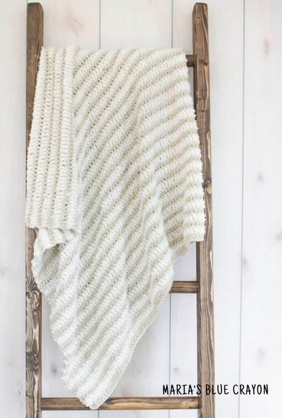 Easy Crochet Blanket Pattern In All Sizes