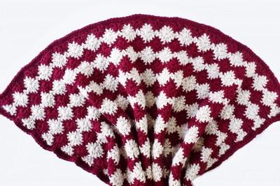 The Fireworks Throw Free Crochet Blanket Pattern