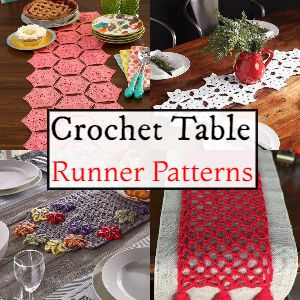 Crochet Table Runner Patterns