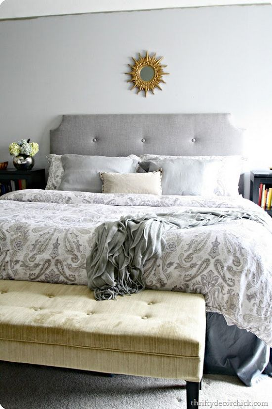 How To Make A DIY Tufted Headboard