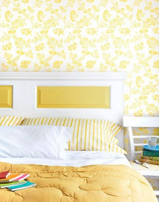 Make A DIY Headboard From A Repurposed Door