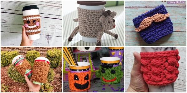 Free Crochet Cup Cozy Patterns