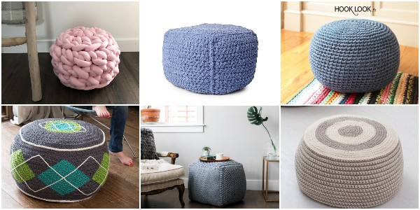 Free Crochet Floor Pouf Patterns