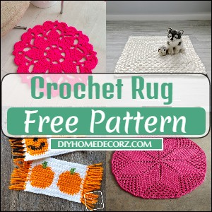 25+ Free Crochet Rug Patterns