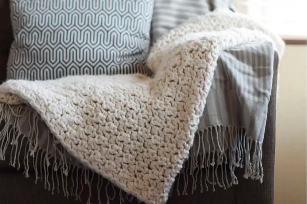 Chunky Icelandic Blanket Pattern